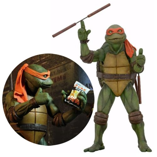 TMNT Movie Michelangelo 1:4 Scale Action Figure