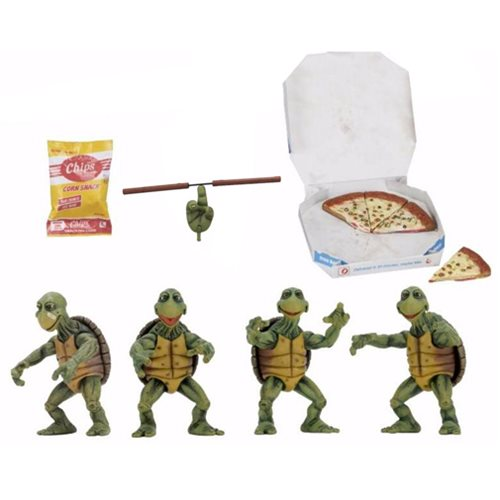 TMNT Movie Baby Turtles 1:4 Scale Action Figure 4-Pack