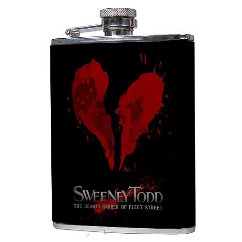 Sweeney Todd Flask
