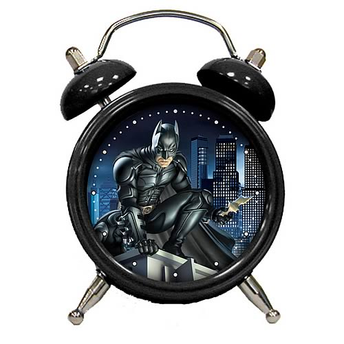 Batman: The Dark Knight Batman Mini Clock