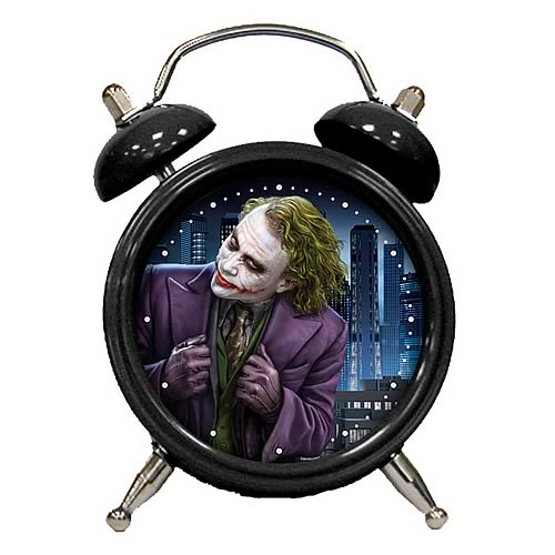 Batman: The Dark Knight The Joker Mini Clock