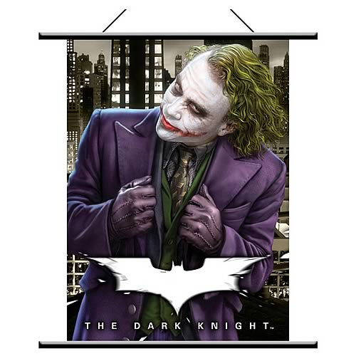 Batman: The Dark Knight Joker Wall Scroll