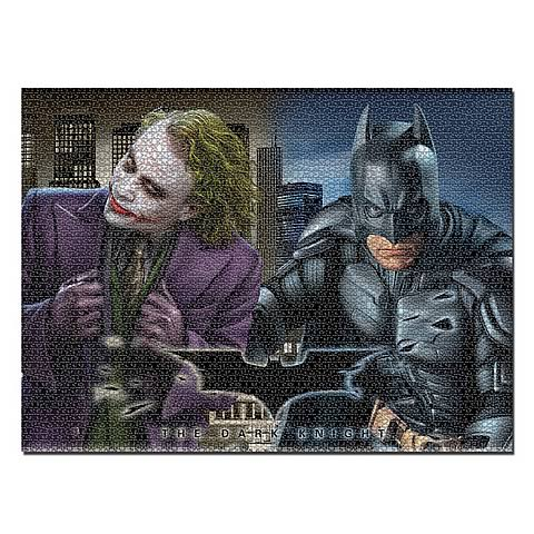 Batman: The Dark Knight Batman and Joker 1,000 Piece Puzzle