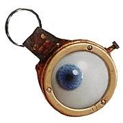 Harry Potter Mad Eye Moody Eye Metal Key Chain