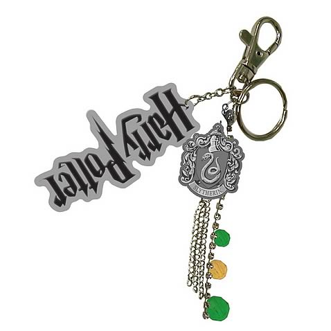 Harry Potter Slytherin Charms Key Chain