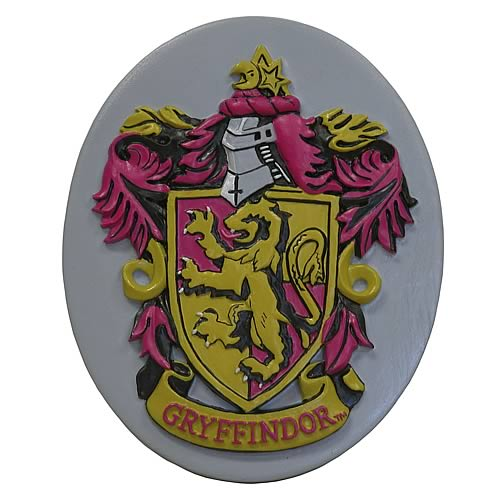 Harry Potter Gryffindor Crest Resin Magnet