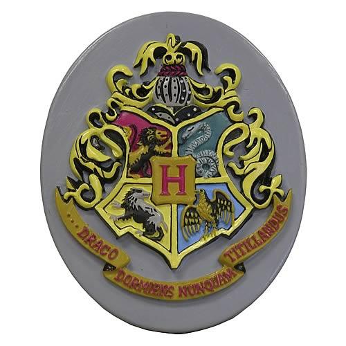 Harry Potter Hogwarts Crest Resin Magnet