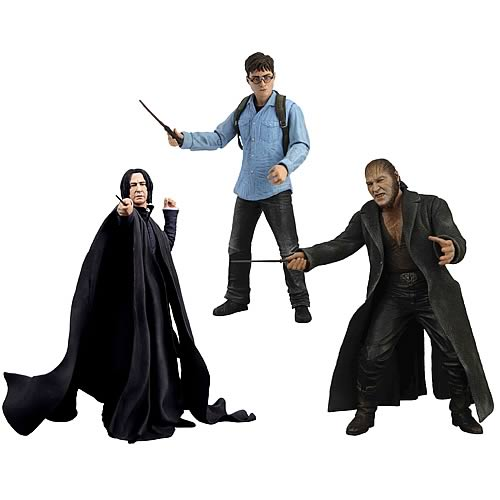 Harry Potter Deathly Hallows Series 1 Action Figure Case