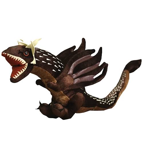 Harry Potter Goblet of Fire Hungarian Horntail Dragon Plush