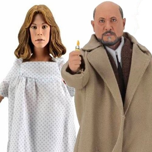 Halloween 2 Doctor Loomis and Laurie Strode 8-Inch Scale Clothed Action Figure 2-Pack