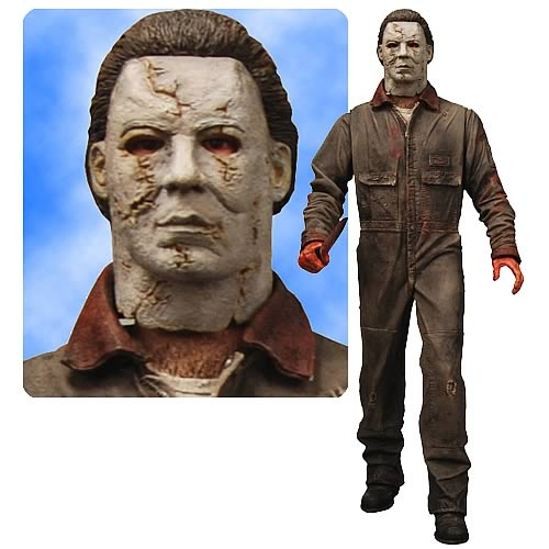 Halloween Rob Zombie Michael Myers 18-Inch Figure with Sound ...