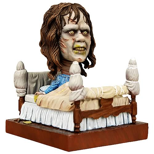 The Exorcist Regan in Bed Head Knocker, Not Mint