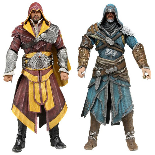 Assassin's Creed Ezio Auditore 7-Inch Action Figure 2-Pack