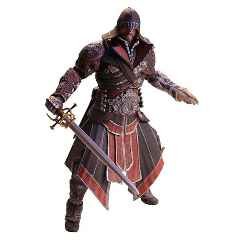 Assassin's Creed Brotherhood Ezio Ebony Action Figure