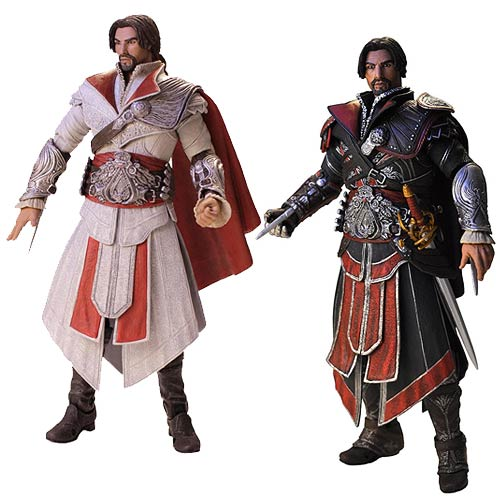 Assassin's Creed Brotherhood Ezio Action Figure Set