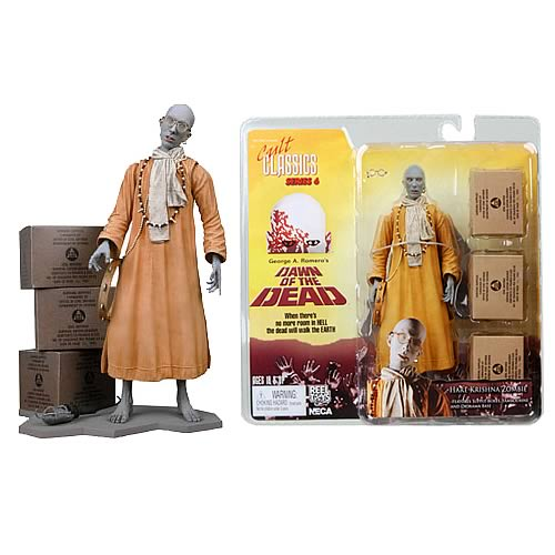 Dawn of the Dead Hare Krishna Zombie Action Figure
