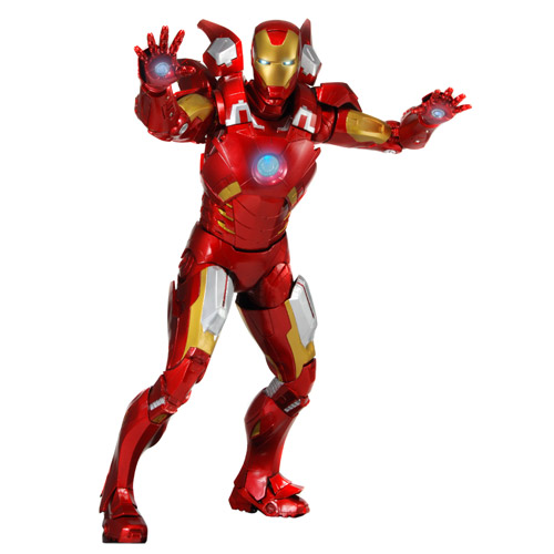 Avengers Iron Man 1:4 Scale Action Figure