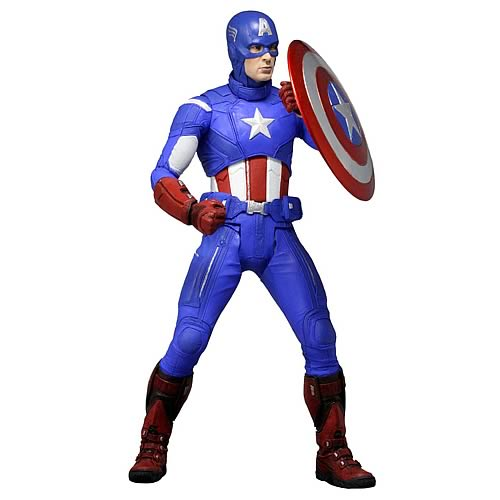 Captain America in Avengers Suit 1:4 Scale Action Figure