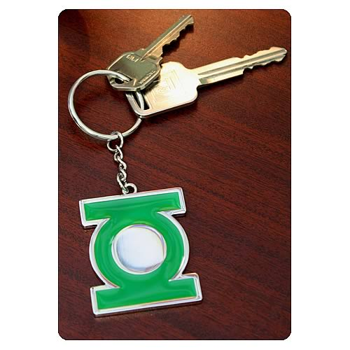 Green Lantern Movie Symbol Metal Key Chain