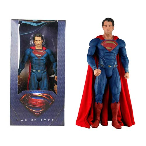 Superman Man of Steel Movie 1:4 Scale Action Figure