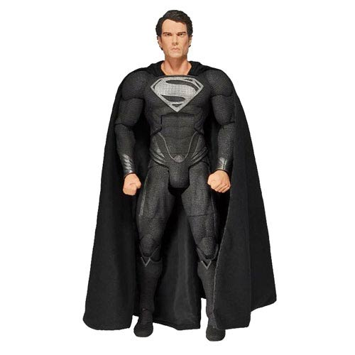 Superman Man of Steel Black Suit 1:4 Scale Action Figure