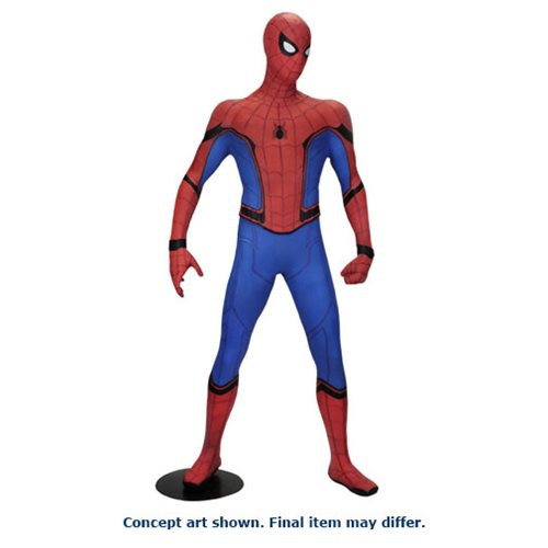 Spider-Man Homecoming Spider-Man Life-Sized Foam Figure