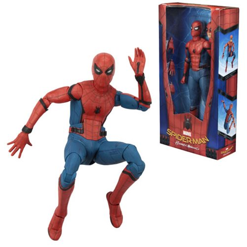 Spider-Man: Homecoming 1:4 Scale Action Figure - NECA ... John Dimaggio And Jeremy Shada
