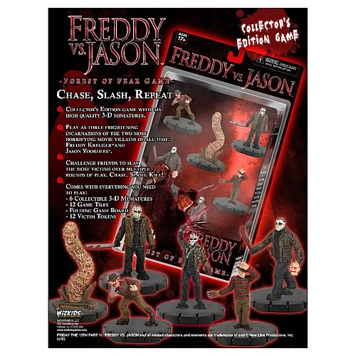Freddy vs. Jason Forest of Fear Game