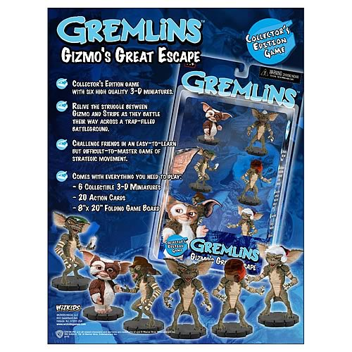 Gremlins Gizmos Great Escape Game