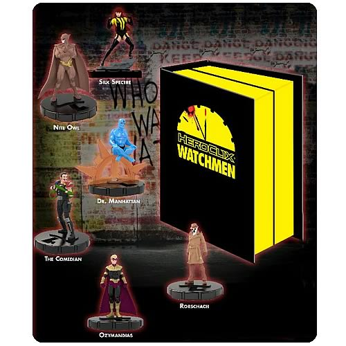 Watchmen HeroClix Figures Collector's Set