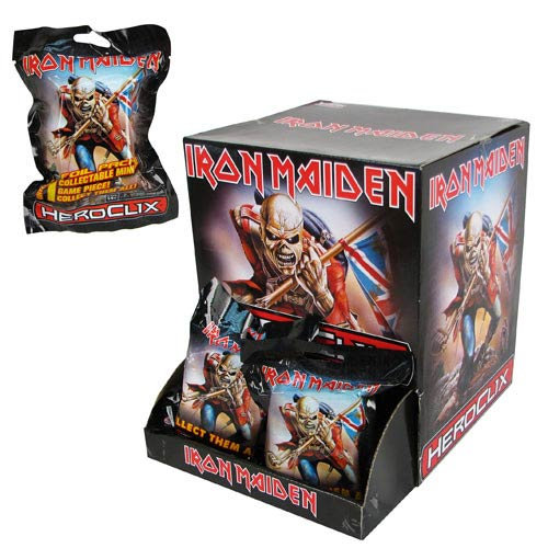 Iron Maiden HeroClix Gravity Feed Display Box