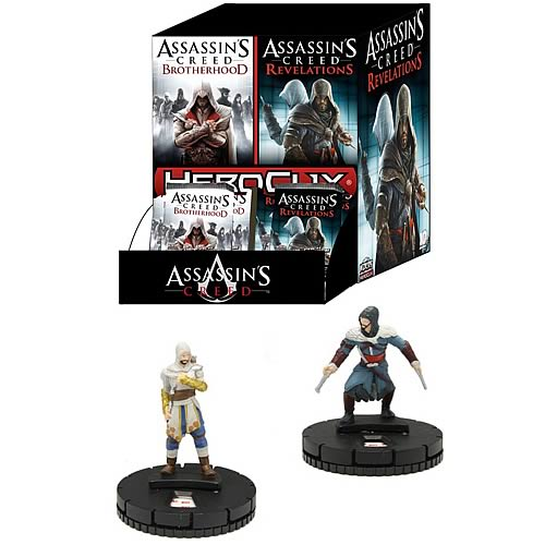 Assassin's Creed HeroClix Mini-Figure Booster Display Box
