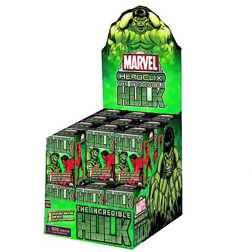 Incredible Hulk HeroClix Countertop Display Box