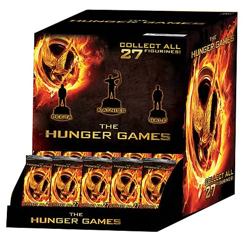 Hunger Games Collectible Gravity Feed HeroClix Figures Case