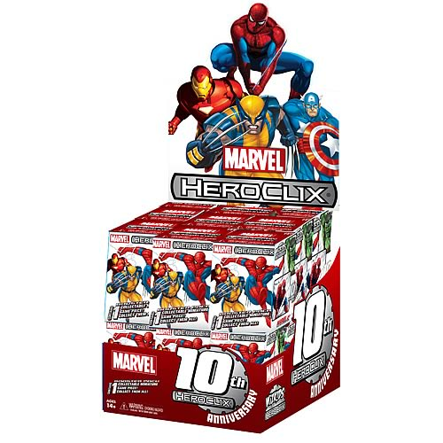 Marvel HeroClix 10th Anniversary Countertop Display Box