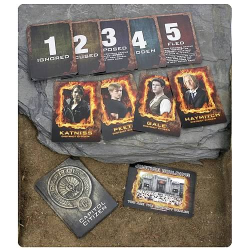Hunger Games JabberJay Strategy Card Game