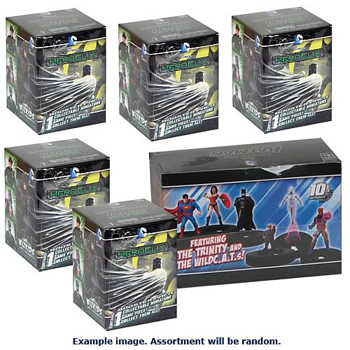 Batman Streets of Gotham HeroClix 6-Pack