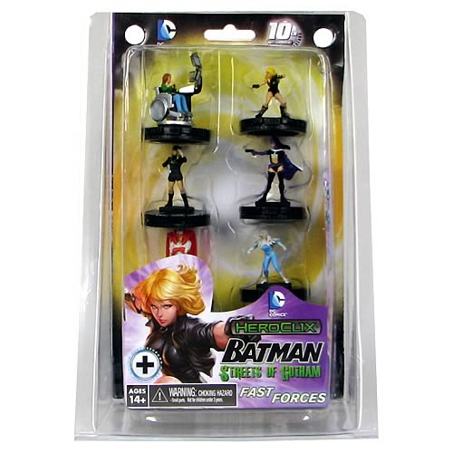 Batman Streets of Gotham Birds of Prey HeroClix 6-Pack