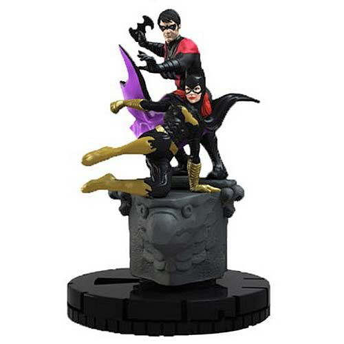 Batman DC HeroClix Nightwing and Batgirl Duo Mini-Figure