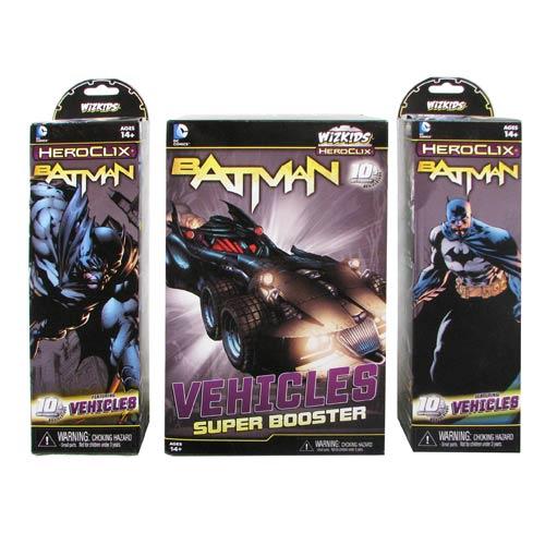 Batman DC HeroClix 9-Count Booster Brick