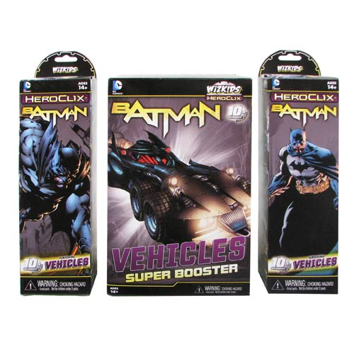 Batman DC HeroClix 8-Count Booster Brick Case