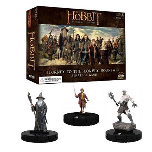 Hobbit HeroClix Journey to Lonely Mountain Strategy Game