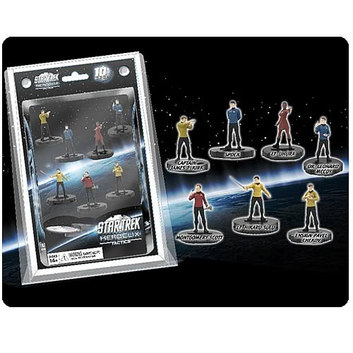 Star Trek HeroClix Tactics Figure 7-Pack