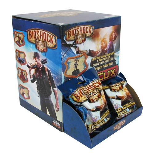 BioShock Infinite HeroClix Gravity Feed Display Box