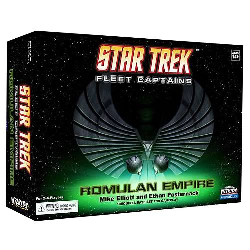 Star Trek Fleet Captains Romulan Empire HeroClix Expansion