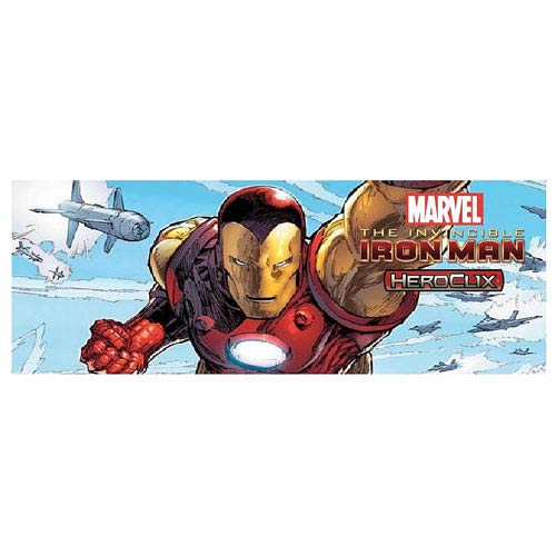 Invincible Iron Man Marvel HeroClix 10-Count Booster Brick