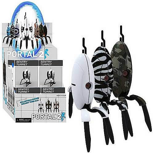 Portal 2 Sentry Turret Mini-Figure 4-Pack