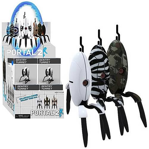 Portal 2 Sentry Turret Mini-Figure Display Box