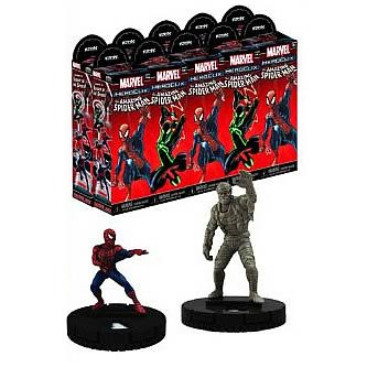 Amazing Spider-Man HeroClix 10 Boosters Brick