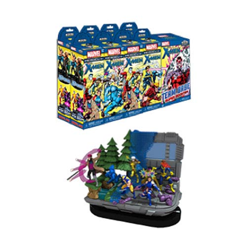 Wolverine and the X-Men Marvel HeroClix Booster Brick